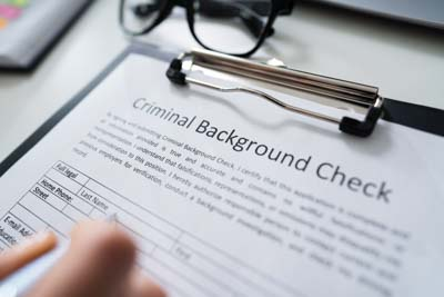 your dui arrest will show up on a background check