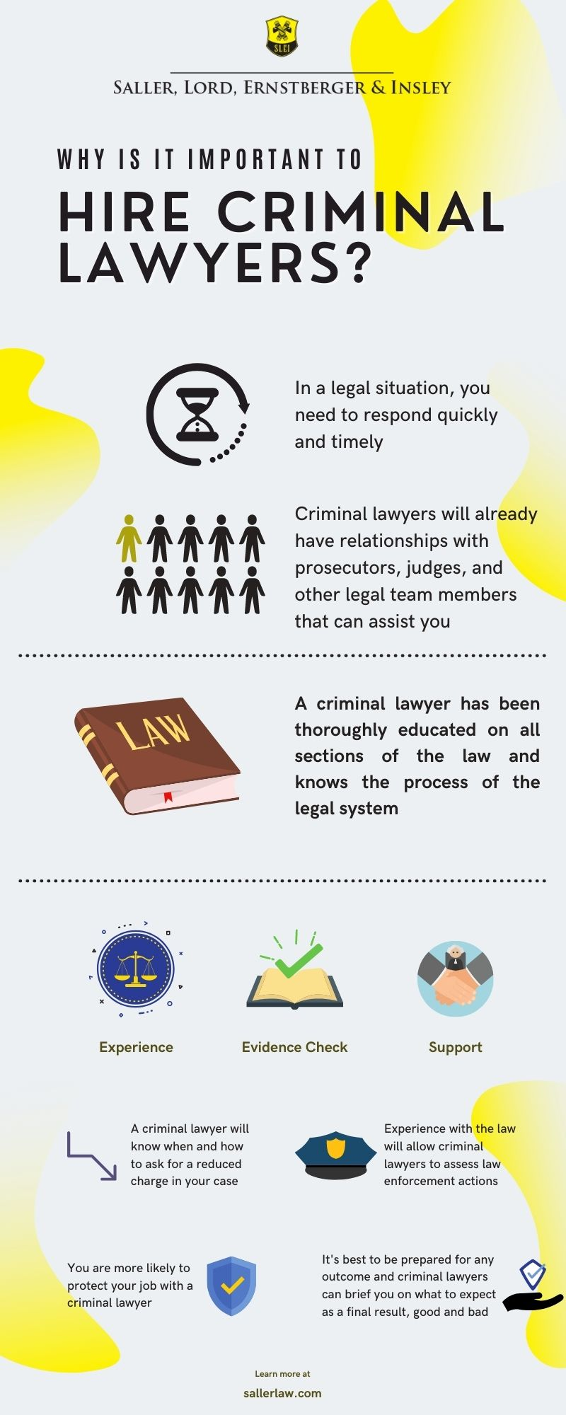 Why Should You Hire a Criminal Lawyer Infographic